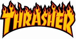 Ropa de la marca Thrasher