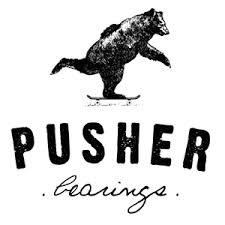 Pusher bearings